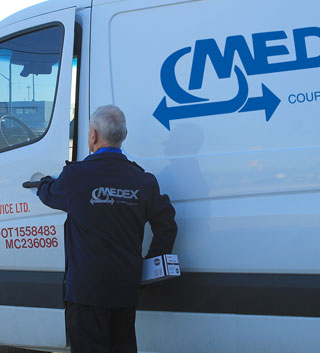 Detroit Windsor Courier Service - Medex Courier